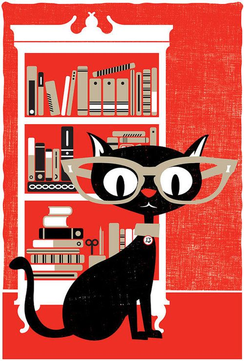 Reader cat. #illustration