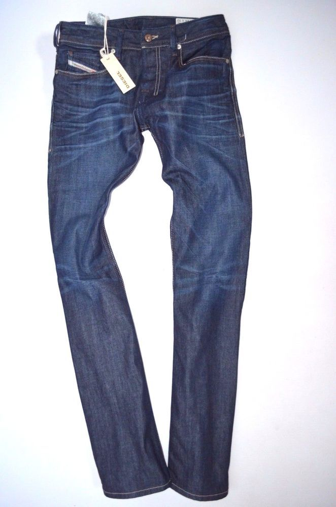 NEW BNWT men's DIESEL ZATINY 0806W Regular relaxed BOOTCUT JEANS  size W26 L32