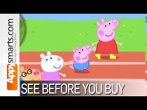 Peppa Pig's Sports Day Review. An app for 3 year olds for iPhone + iPad.