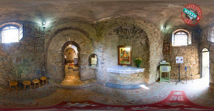 """""""MERYEM ANA""""  Meryem Ana kilisesi'ni Sanal Tur İle 360 Derece Gez.  Mekan360 ile her yerden, gezdiğin yeri 360° hisset"""