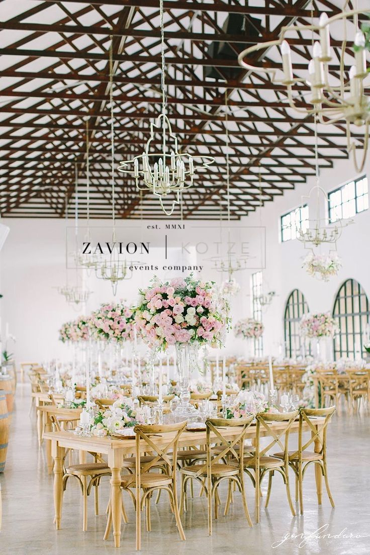 Royal wedding! Floral design, floral art and luxury created by Zavion Kotze. This wedding was truly the best wedding ever, and the most amazing floral design. Huge mass arrangements, floral runners, roses, orchids, art, wooden tables, wedding day