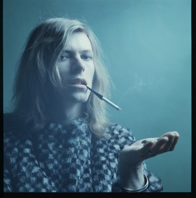 David Bowie, Hunky Dory photo session by Brian Ward, 1971