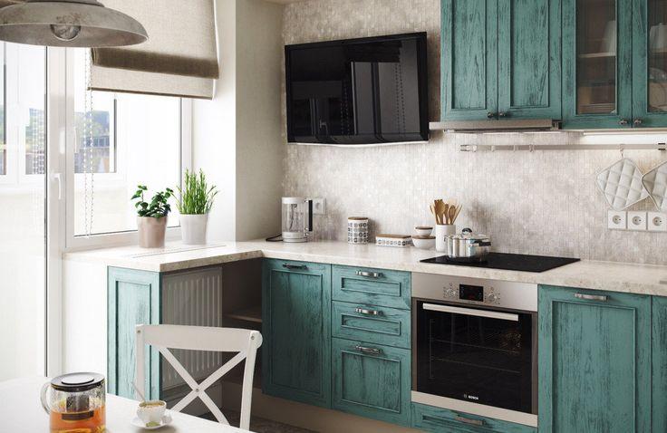 Как создать интерьер с обложки: функциональная кухня с элементами кантри | Свежие идеи дизайна интерьеров, декора, архитектуры на InMyRoom.ru