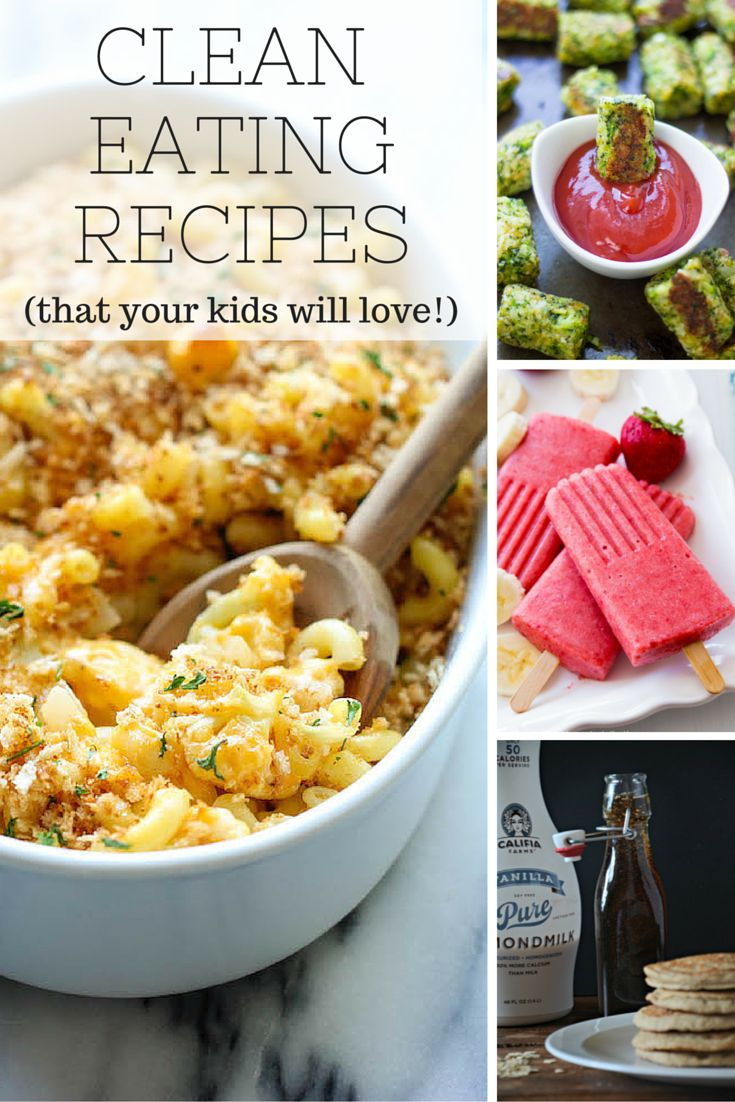 Clean Eating for Kids: 10 Recipes Your Kids Will Love // Easy ways to sneak extra protein and veggies under the radar! Everything from broccoli tots to zucchini pizza to cauliflower mac and cheese.