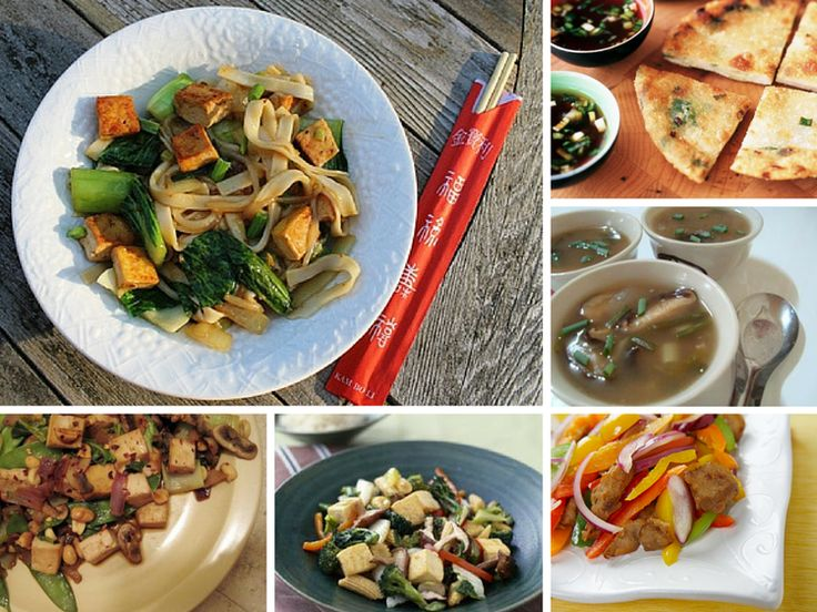 Vegetarian Restaurant-Style Chinese Dishes: Noodles, Fried Rice & More