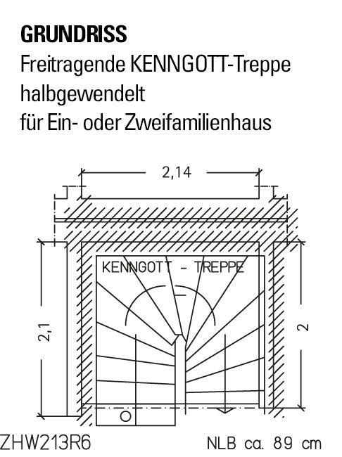 Normgrundriss Zum Kostenlosen Download Auch In 3d Kenngott Treppe