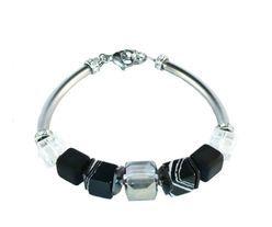 IAMLUND bracelet with polaris, gemstones and stainless steel