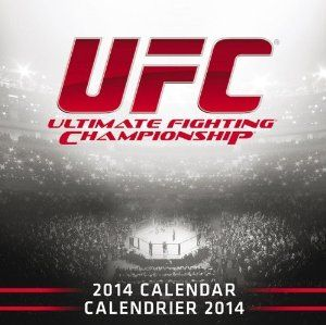 UFC 2014 Wall Calendar, Red, 12 x 12 x 0.13-Inch -   - http://sportschasing.com/sports-outdoors/ufc-2014-wall-calendar-red-12-x-12-x-013inch-com/