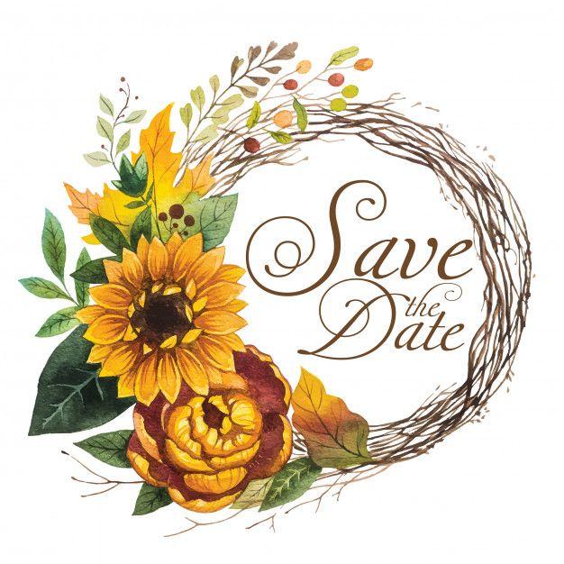 Spring Sunflower Wreath