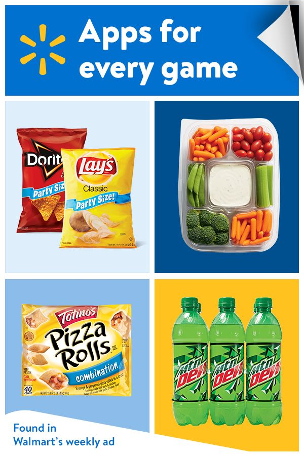 Get set for tip-off with great snacks from Walmart's weekly ad.