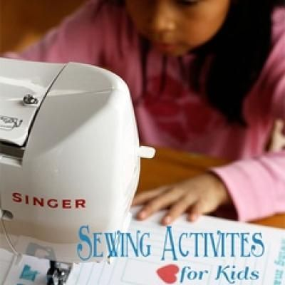Printable Sewing Sheets for Kids {Teaching Kids to Sew}