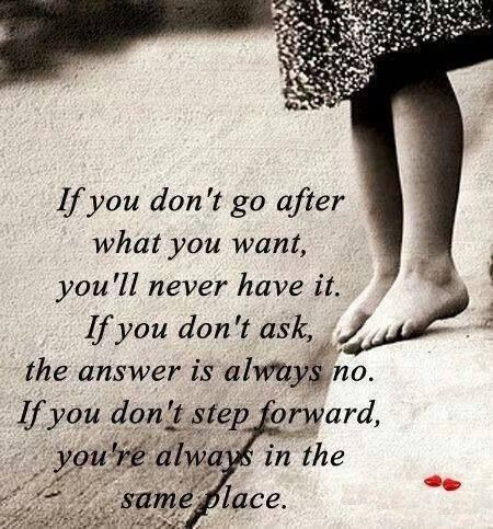 Forward is the only way!