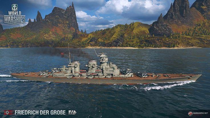 Let´s Play World of Warships I Schlachtschiff Friedrich der Große I Game...