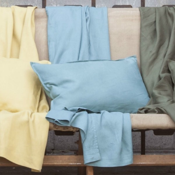 Sheets on the Line - Linen Throw In Mineral, $179.95 (http://www.sheetsontheline.com.au/linen-throw-in-mineral/)