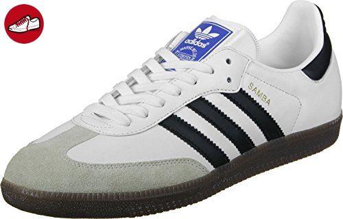 adidas Unisex-Erwachsene Samba Sneaker, Weiß (Footwear White/Core Black/Clear Granite), 46 EU - Adidas sneaker (*Partner-Link)