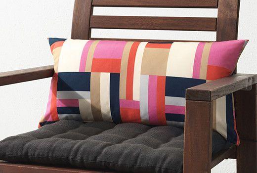 Oltre 25 fantastiche idee su cuscini per esterni su - Cuscini sedie ikea ...