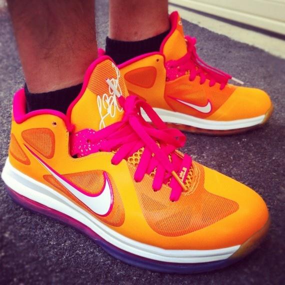 "quality design 64a85 e5e69 Lebron 9 Low ""Floridian† lebron james shoes"