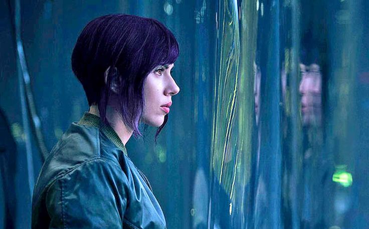 Scarlett Johansson's first look in Ghost in the Shell movie