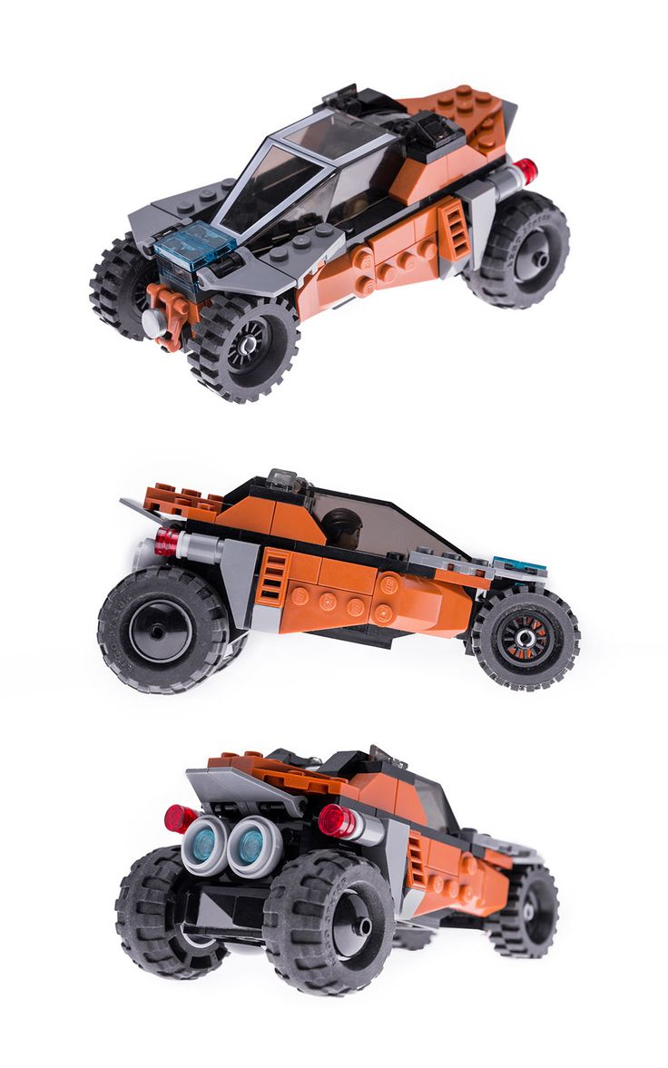 https://flic.kr/p/tYbbSa | Cyber buggy | Lego city concept car