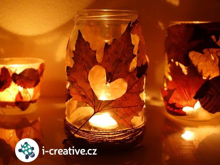 podzimní lucernička návod