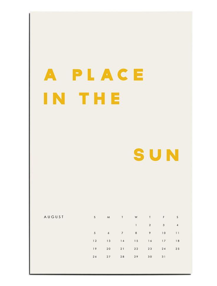 2018 Doré Calendar