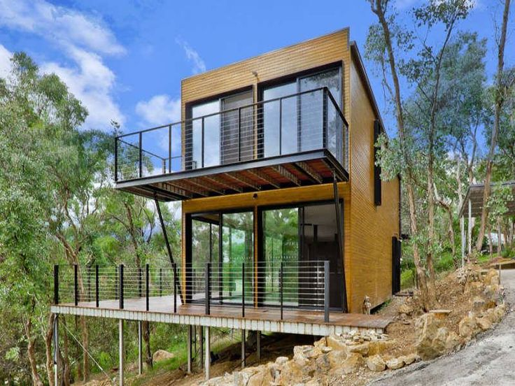 On a hill shipping container homes pinterest a hill and search - Container homes queensland ...