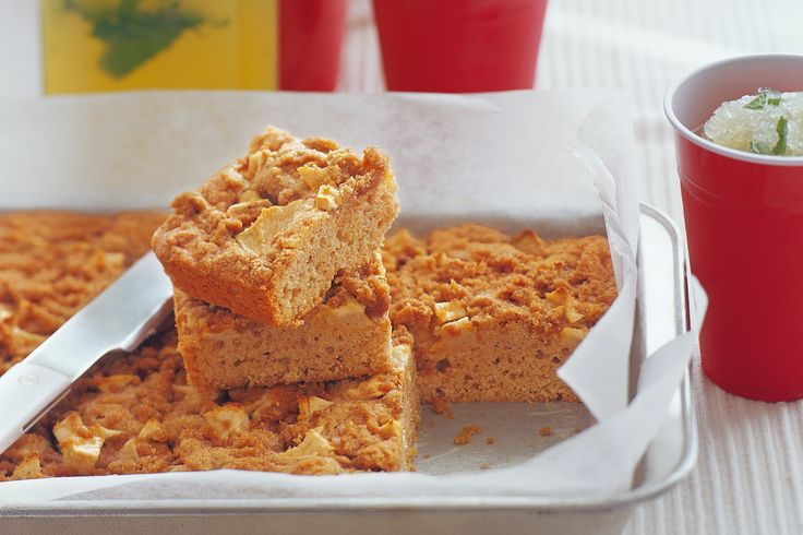 Give classic apple slice added texture with a wonderful cinnamon-spiced brown sugar topping.