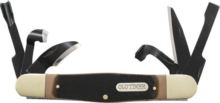 Old Timer Splinter Carvin' Knife Traditional Pocket Knife
