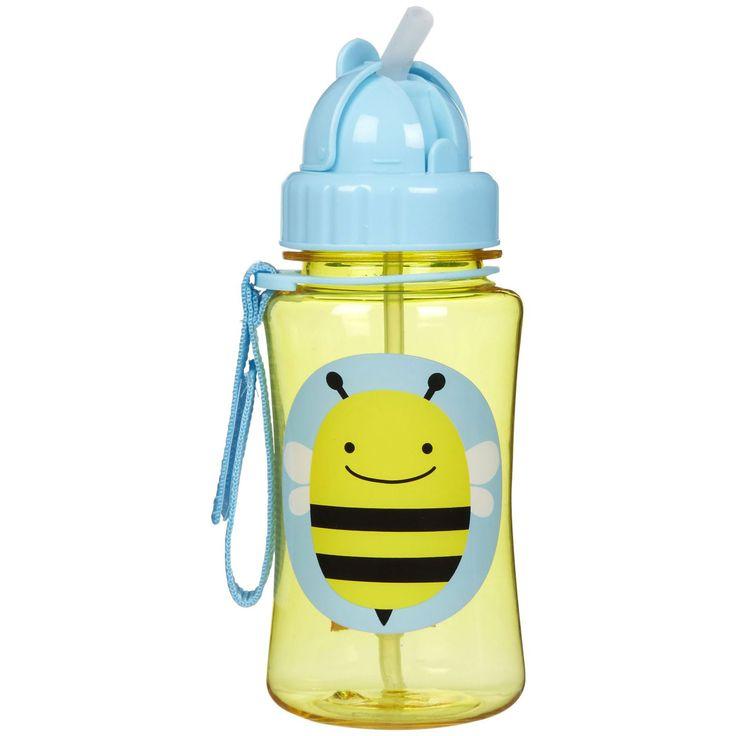 Zoo Παγούρι με Καλαμάκι Μέλισσα