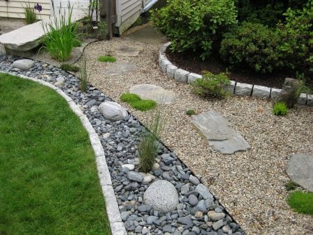 115 best dry creek beds and rock gardens images on Pinterest