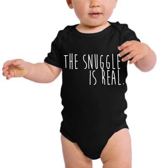 The Struggle is Real...more like the SNUGGLE is Real! Who doesnt love snuggling with a baby. This is the perfect gift idea for your little one or