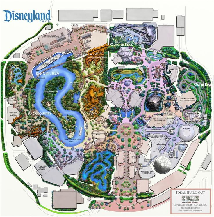 Disneyland Ideal Buildout Project