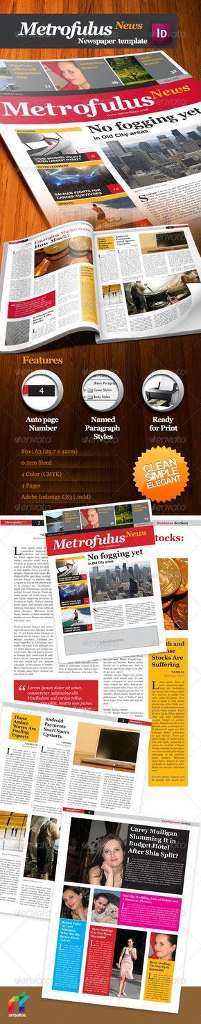 44 best Newsletter Print images on Pinterest Newsletter - business newsletter templates free