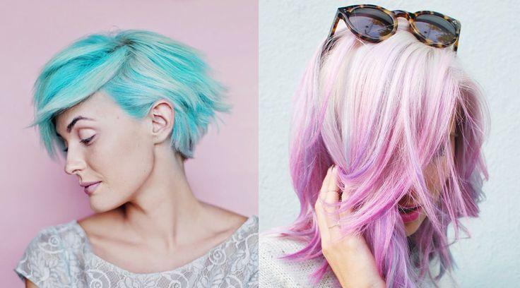 Pastel Rengi Saç Modelleri Son dönemlerde yabancı ünlülerin de sayesinde pastel rengi saç modelleri beğeni görmeye başladı. Instagram'da başlayan trend hızla yayıldı.