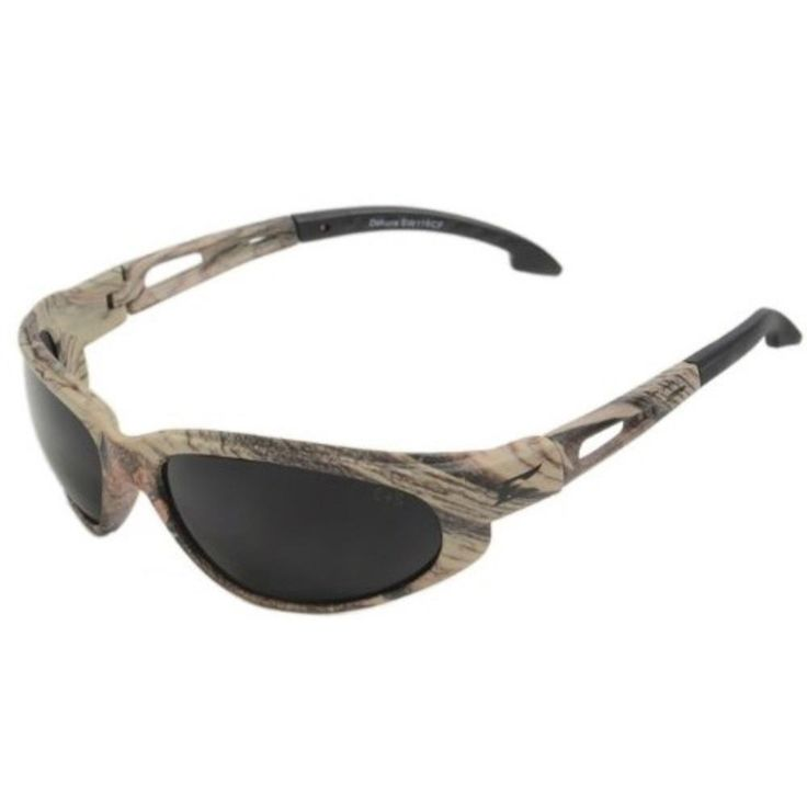 Edge Eyewear Dakura Forest Camouflage-Smoke Lens Sunglasses