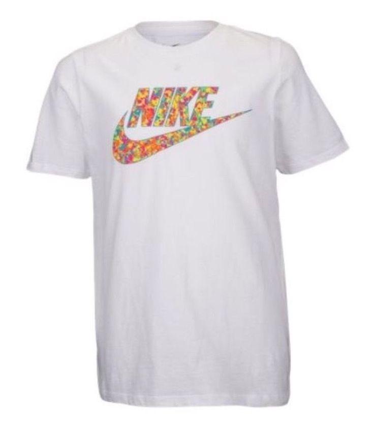 Nike Fruity Pebbles Foamposite Cereal Grade School Shirt M