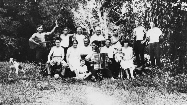 Canecutters picnic Babinda district 1929