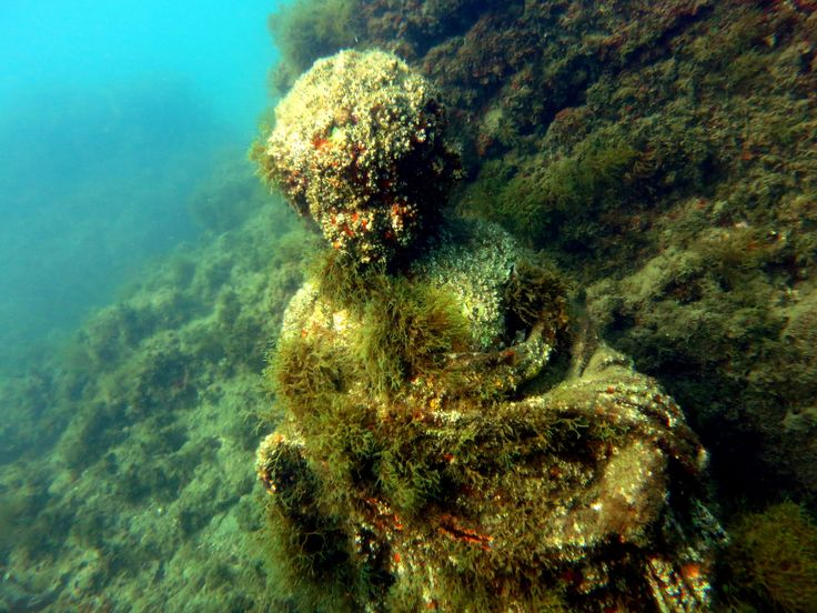 Staroveké mestá a ruiny pod hladinou mora