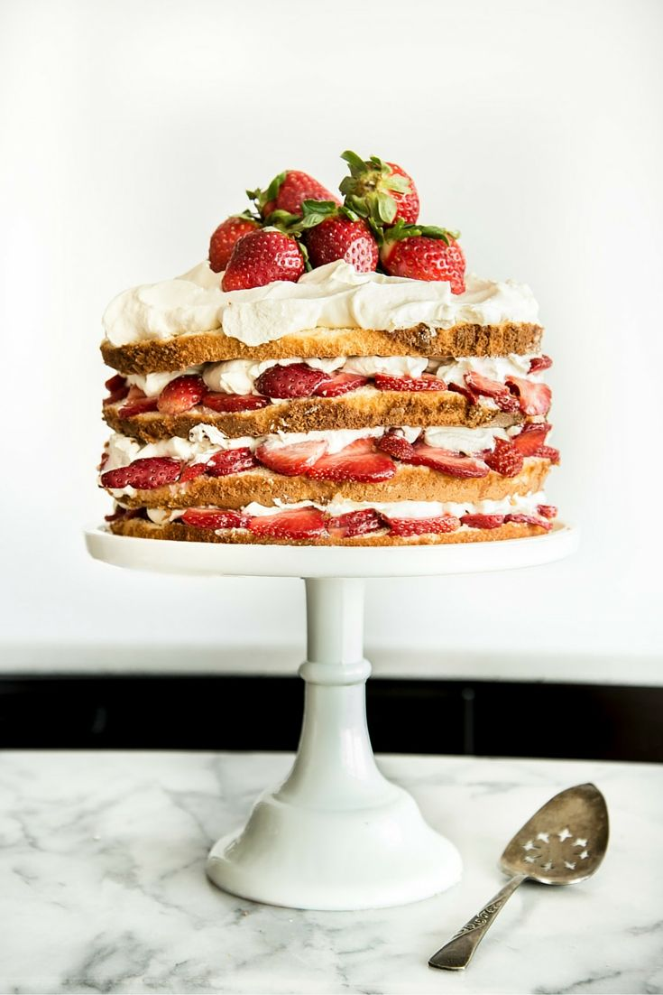 Take Strawberry Shortcake to the Next Level | Save the best for last at Easter brunch this year, and impress guests with a towering take on shortcake.