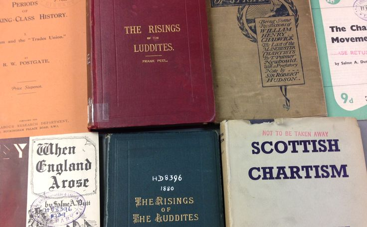 A collection of articles and pamphlets on Chartism and Labour movement.