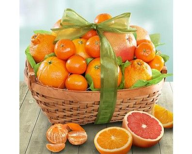 Sweet Sunshine Citrus Fruit Gift Basket