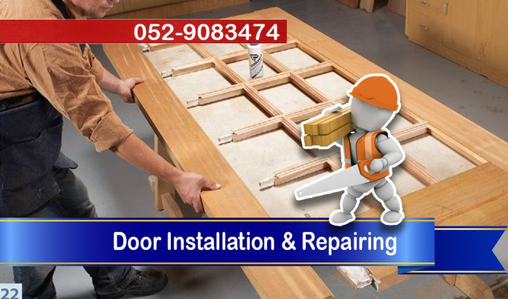 CSD Carpentry Services Dubai offers you Doors Installation & Repairing any where in Dubai, Our Carpenters can Fix Door Hinges, Handles & Locks.