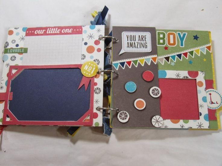 Scrapbooking-Ideen-kleiner-Album-Großeltern-Geschenke