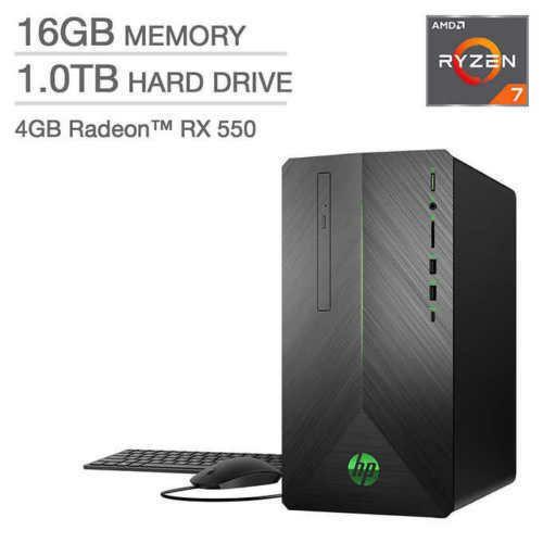 AMD Ryzen 7 1700 Processor at 3 0GHz  1TB 7200RPM SATA Hard