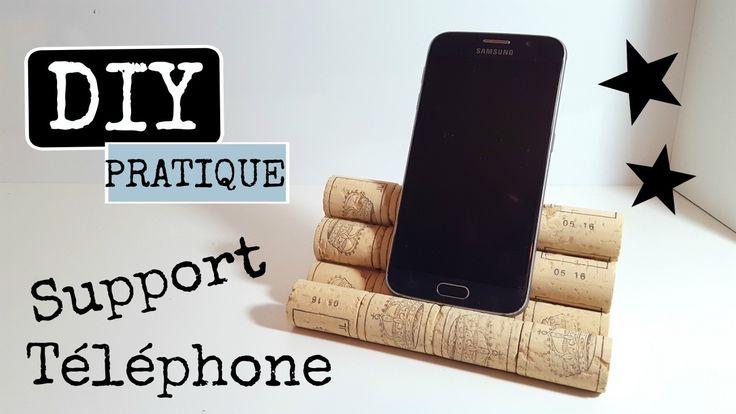 DIY SUPPORT DE TÉLÉPHONE PORTABLE