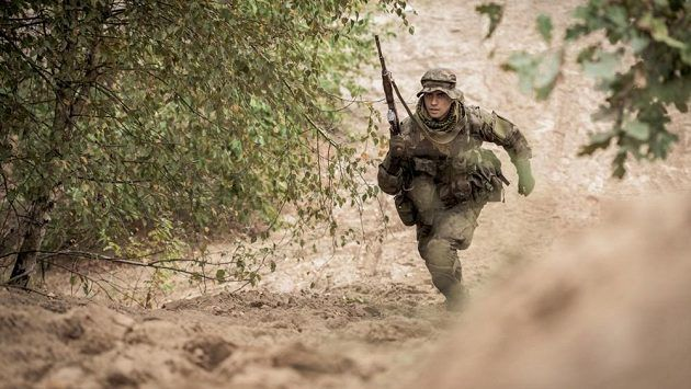 Běhej jako voják!