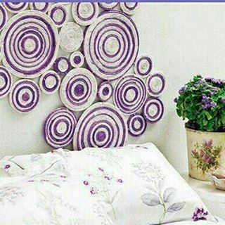 ��Yeni fikirler. Kendiniz ev de yapabilir siniz !! (Resmi kaydırarak Bakınız)  #papier #kağıt #elişi #handmade #duvarsüsü #rengarenk #kelurijk #rengarenkleurijk #colors #mor #eflatun #paars #peurple http://turkrazzi.com/ipost/1524610791507961732/?code=BUogW_ojyeE