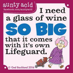 Tuesday, November 08, 2016 | GoComics.com - Aunty Acid by Ged Backland | Bloglovin'