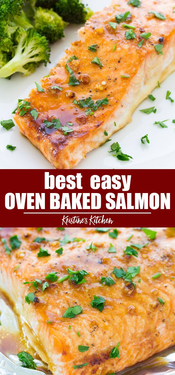 Easy Oven Baked Salmon Salmon Recipes Oven Oven Baked Salmon Oven Baked Salmon Recipes