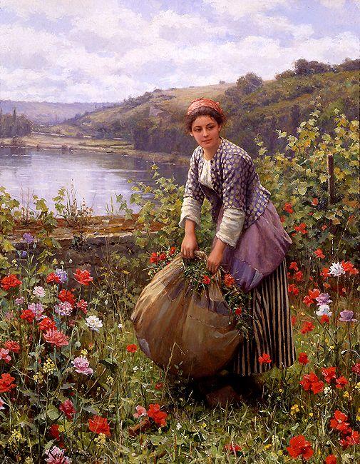 Le coupeur d'herbe ( 1839-1924 )